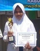 Juara II Lomba KSM seleksi tingkat KKM MTsN 04 Pasuruan 2018 Mapel IPA